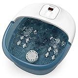 Bañera Para Pies, Hidromasaje de Pies con Masaje de Burbujas y por Vibración, Calentar el Agua Relajación Nerve Decompression Foot