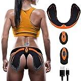 EMS Hips Electroestimulador Muscular,Gluteos Estimulador de Glúteos Herramientas Nalgas HipTrainer para la Cadera Mujer USB Recargable,Estimulador Muscular Ejercitar Gluteos, Hombre y Mujer