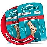 COMPEED Ampollas Medianas, 10 Apósitos Hidrocoloides - Pack de 2 (total 20), Tratamiento de Pies, Cura rápidamente, Tamaño del apósito 4,2 x 6,8 centímetros