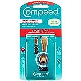 COMPEED Extreme, Ampollas Medianas Con 20% Más Almohadillado, 5 Apósitos Hidrocoloides - Tratamiento de Pies, Cura rápidamente, Tamaño del apósito 4,2 x 6,8 centímetros