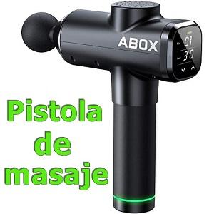 Pistola de masaje